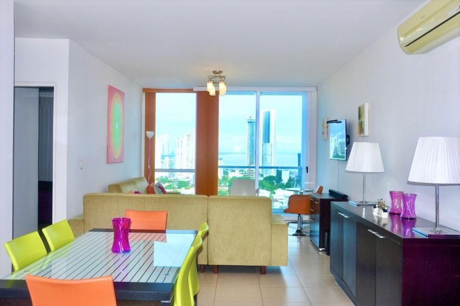 Remax real estate, Panama, Panamá - San Francisco, BEAUTIFUL APARTMENT FOR SALE IN PH MET 1.