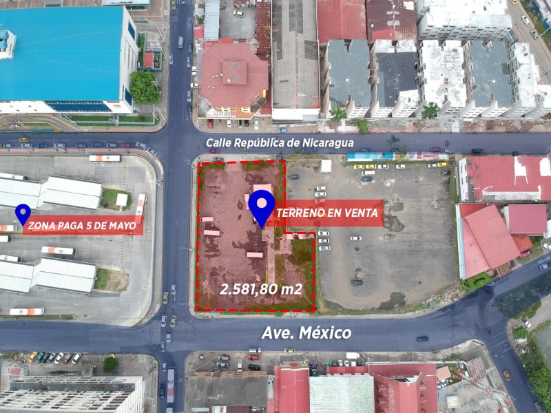 Remax real estate, Panama, Panamá - Calidonia, LAND FOR SALE IN CALIDONIA A STEPS FROM CINTA COSTERA, PANAMA CITY