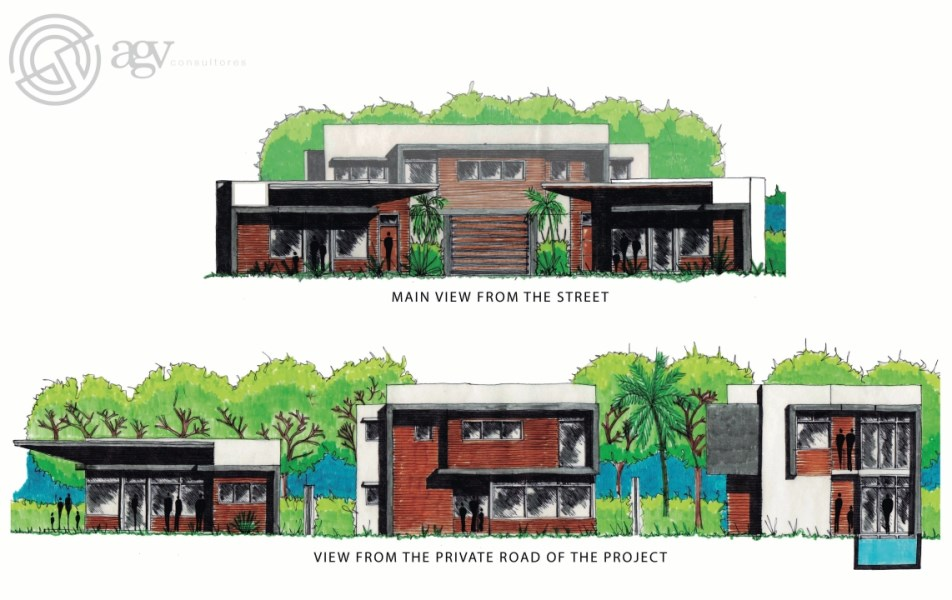 """Remax real estate, Costa Rica, Nosara, Subdivision Development Project Lots for Sale - """"Surf and Skate Villas"""" Concept - ALL UNDER CONTRACT"""