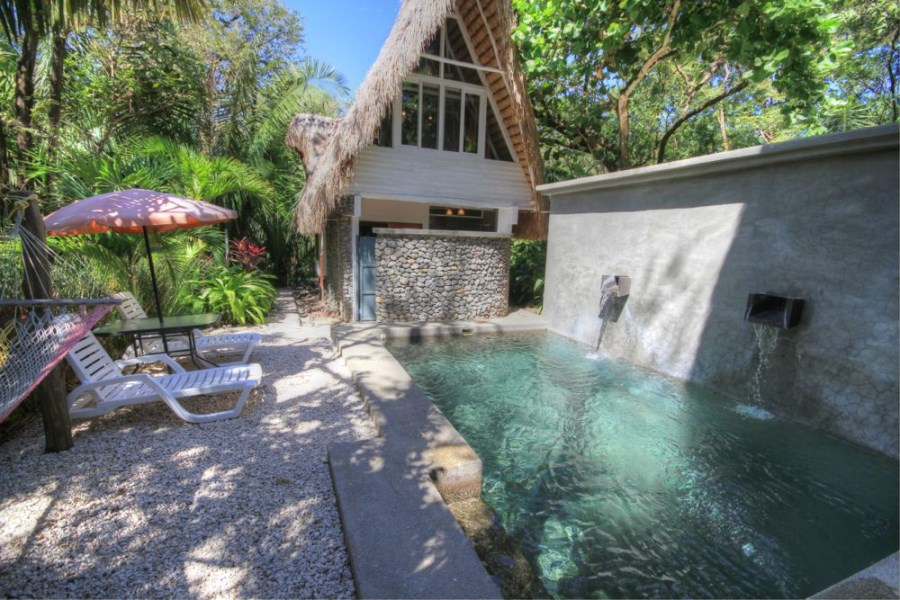 Remax real estate, Costa Rica, Nosara, Balinese Style Beach Houses Steps to Playa Guiones Beach-SOLD