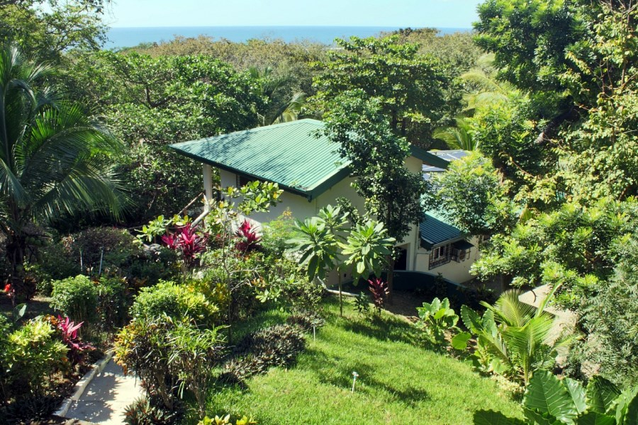 Remax real estate, Costa Rica, Nosara, 2 Homes, K Section,  1/2 acre,  Ocean View,  Solar Powered Jungle Bliss - Sold