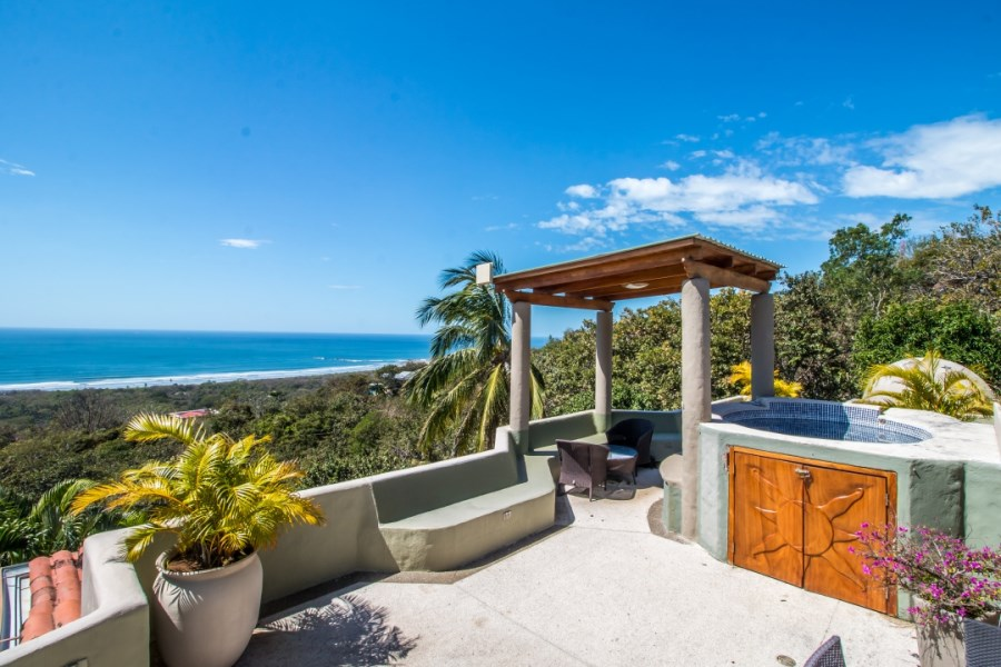 Remax real estate, Costa Rica, Nosara, Spectacular Ocean View Duplex in Heart of EE section