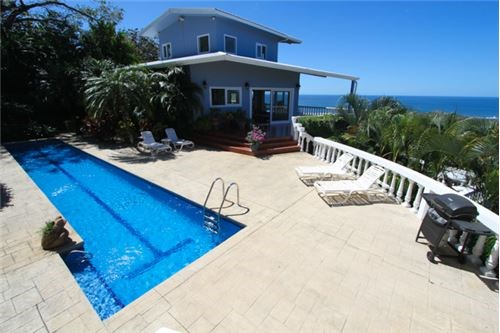 Remax real estate, Costa Rica, Nosara, Four Bedroom Home with Massive Ocean Views - SOLD
