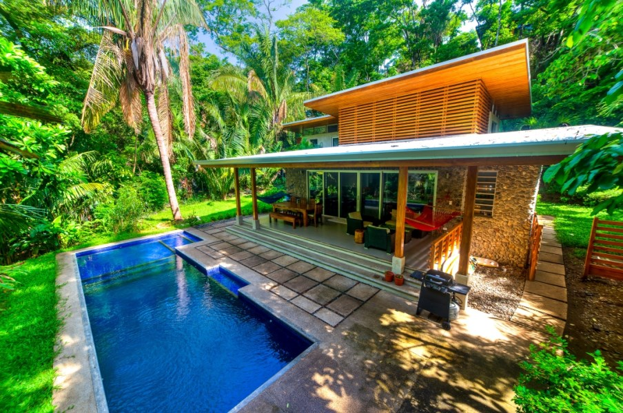 Remax real estate, Costa Rica, Nosara, Four Bedroom Modern-Tropical Home Located Near Bodhi Tree, Walking Distance to Guiones Beach and Shops-SOLD
