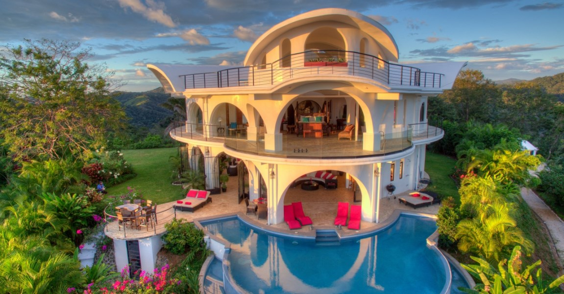 Remax real estate, Costa Rica, Nosara, Luxury Architectural Masterpiece with Complete Privacy, Extensive Views, and Much More