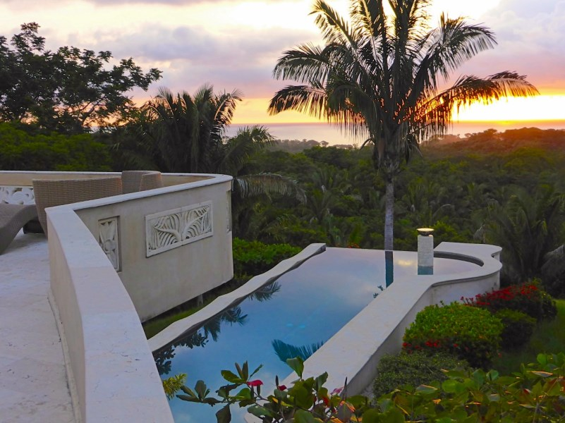 Remax real estate, Costa Rica, Nosara, Hidden Balinese Estate in San Juanillo Gated Community with Ocean Views over Biological Reserve