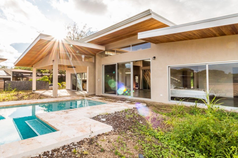 Remax real estate, Costa Rica, Nosara, Rare Opportunity to Buy a Modern Spec Home in Guiones Beach Club - SOLD