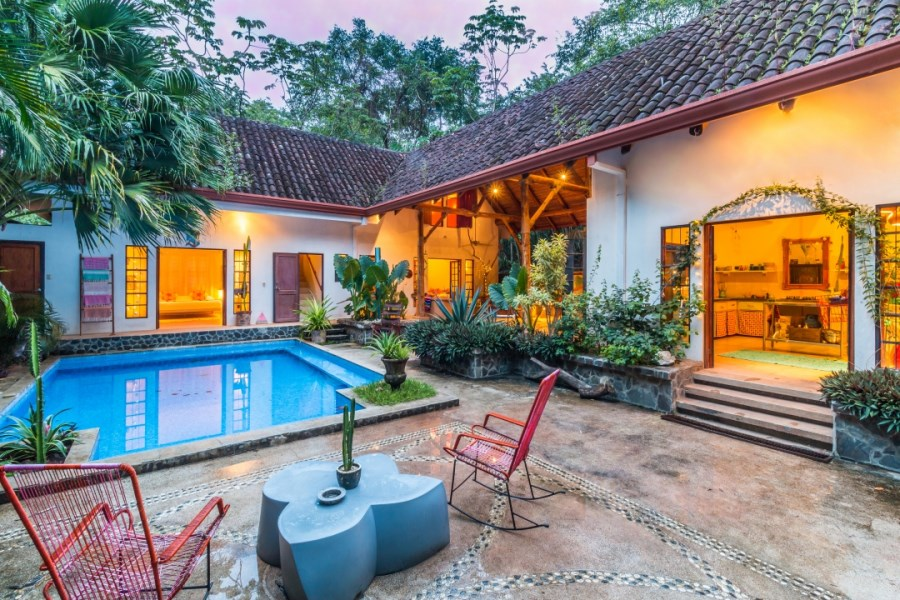 Remax real estate, Costa Rica, Nosara, Indoor/Outdoor Nosara Style Beach House - Sold
