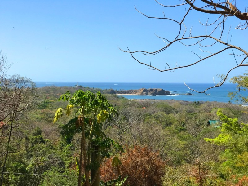 Remax real estate, Costa Rica, Nosara, Absolute Best Available View Lot in Pelada - SOLD