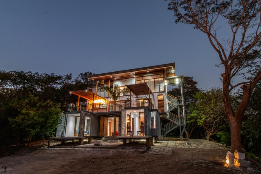 Remax real estate, Costa Rica, Nosara, Eco Friendly Container Home
