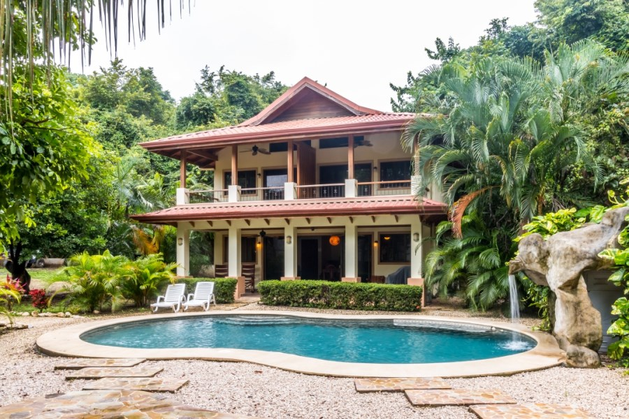 Remax real estate, Costa Rica, Nosara, Move in Ready House + Income Opportunity in Guiones, Walk to Beach, Surf, Restaurants, Entertainment - SOLD