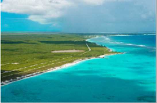 RE/MAX real estate, Turks and Caicos, Middle Caicos, .64 acre beach front lot Middle Caicos
