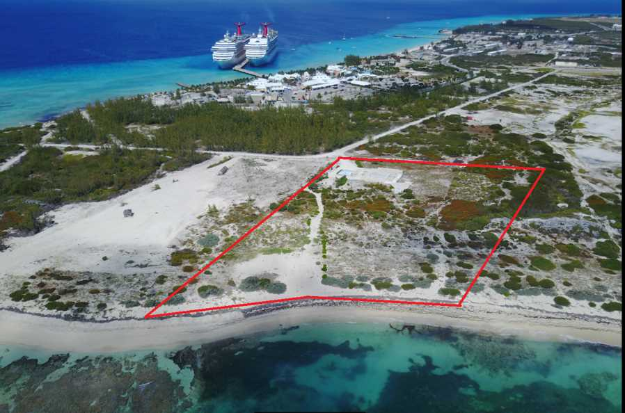 RE/MAX real estate, Turks and Caicos, Back Salina, Prime 5 acre Beachfront Development Land In Grand Turk