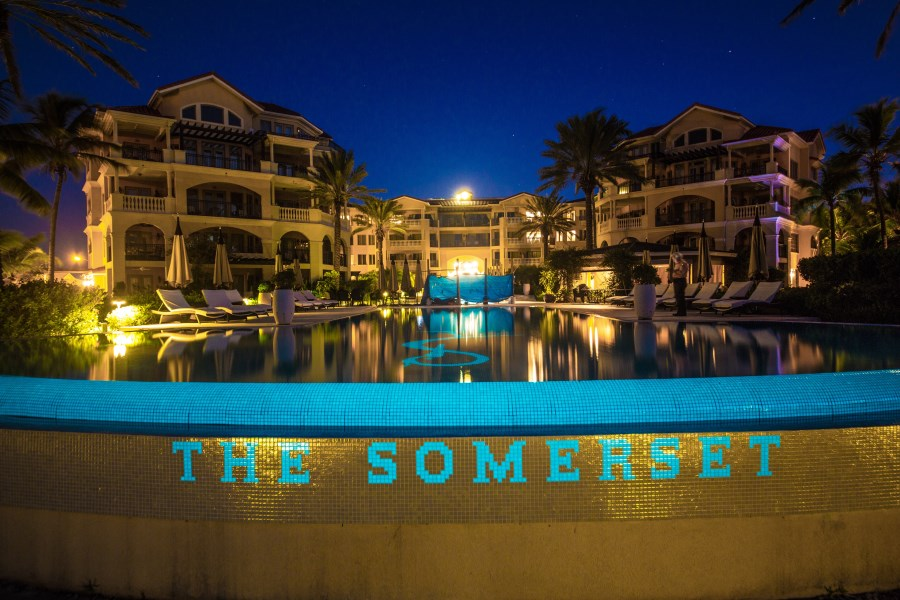 RE/MAX real estate, Turks and Caicos, Grace Bay, Three Bedroom Corner Unit at the Somerset Resort