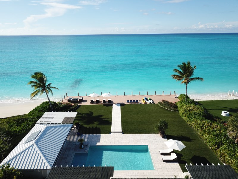 RE/MAX real estate, Turks and Caicos, Leeward, Grace Bay Beach Front Villa