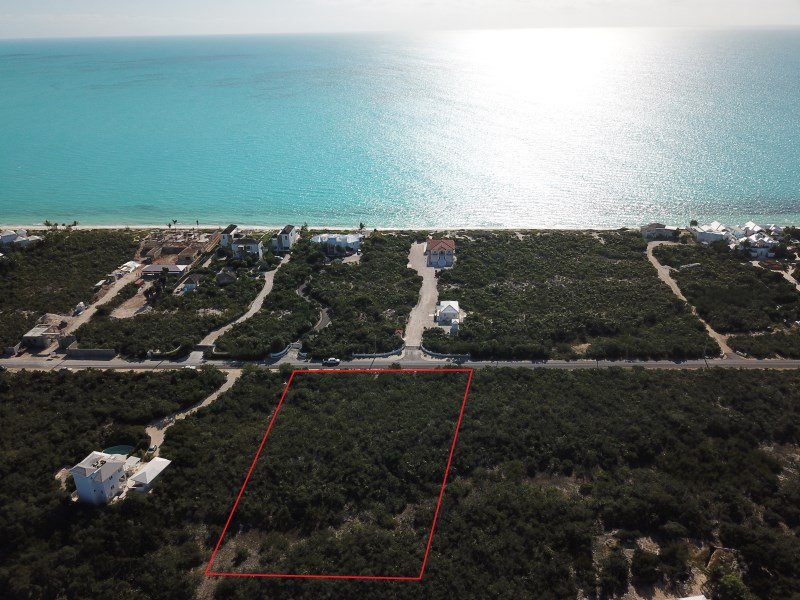 RE/MAX real estate, Turks and Caicos, Long Bay, Vacant Building Lot Long Bay Beach Road