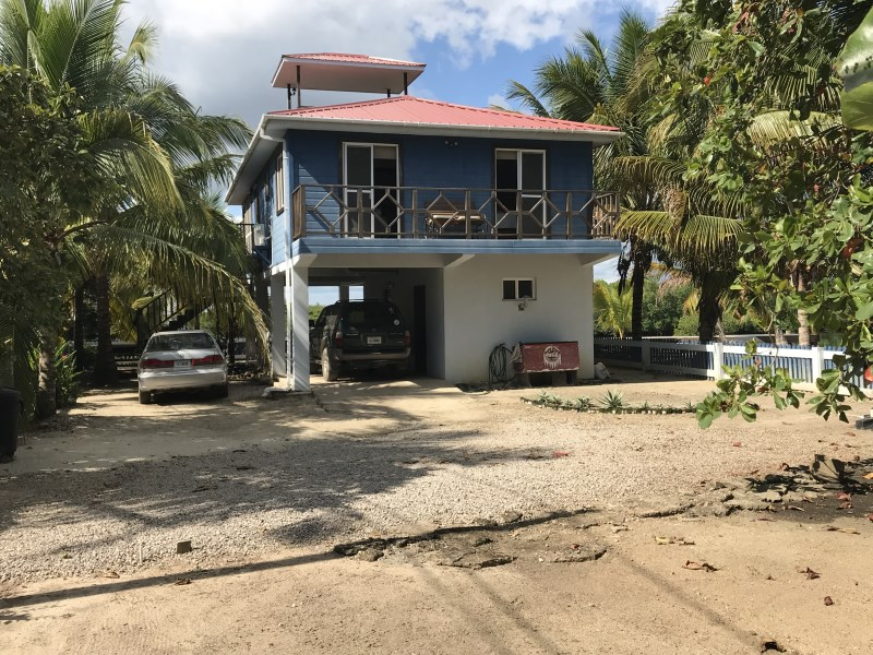 Remax real estate, Belize, Plasencia, Income Producing Newly Built House on the Lagoon Near Harbor Place