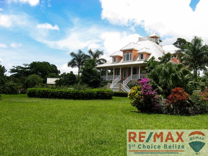 Remax real estate, Belize, Sittee River, H3626 - Beautiful Estate Home on 12 Acres