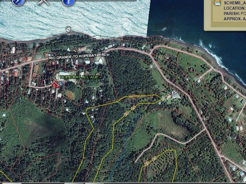 RE/MAX real estate, Jamaica, Hope Bay, 176 Hermitage Farm Portland Hope Bay