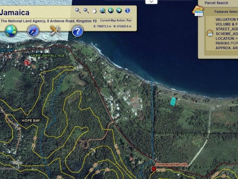 RE/MAX real estate, Jamaica, Hope Bay, Lot 244 Hermitage Farm Portland Hope Bay
