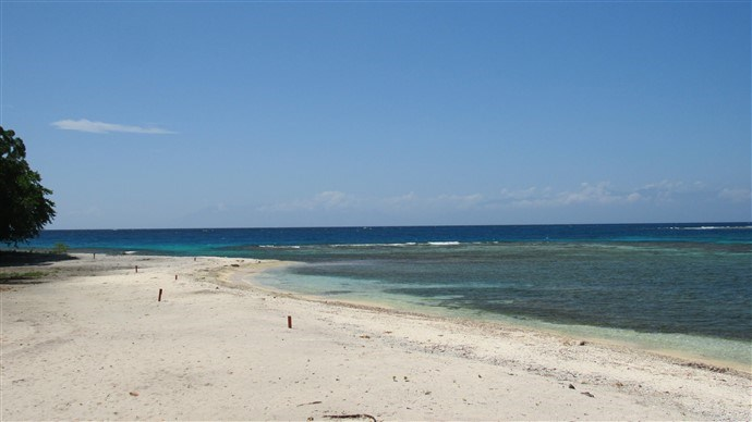Remax real estate, Honduras, Utila, The well Beachfront Lot #21