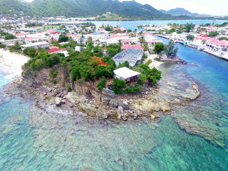 RE/MAX real estate, St. Martin, Sandy-Ground, Casa Colibri water front