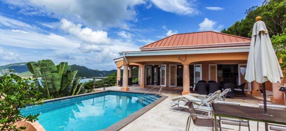 RE/MAX real estate, British Virgin Islands, West End, COOTENS BAY LUXURY VILLA
