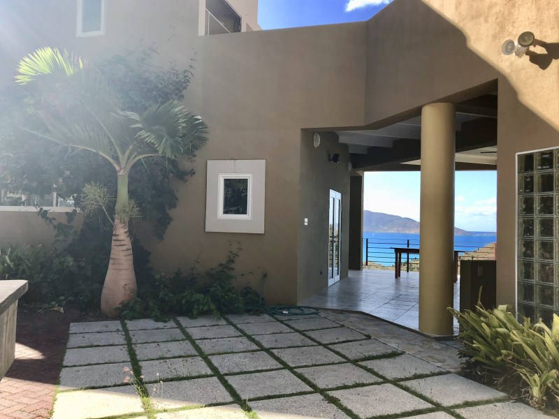 RE/MAX real estate, British Virgin Islands, Long Bay, **rented til Apr 19**  Pet friendly three bed villa with a pool in Belmont for rent