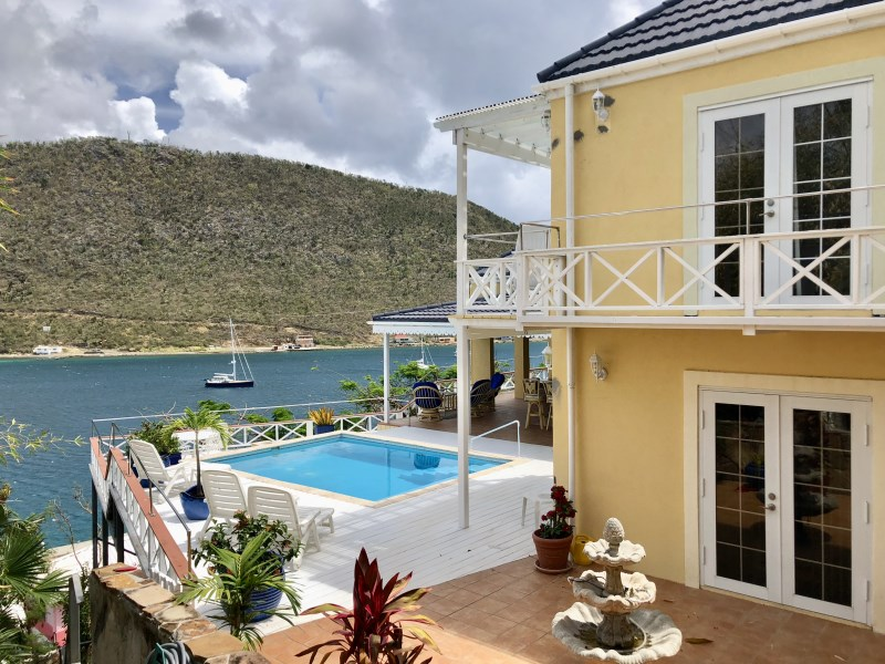 RE/MAX real estate, British Virgin Islands, Frenchmans Cay, **rented til Jun 19** Luxury three bedrooms villa with pool in Frenchman Cay available