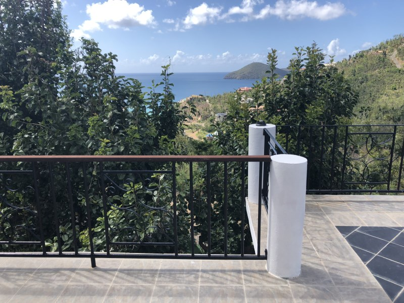 RE/MAX real estate, British Virgin Islands, Lambert Beach, **rented til Oct 19** Scenic three bed town house with pool in Little Bay