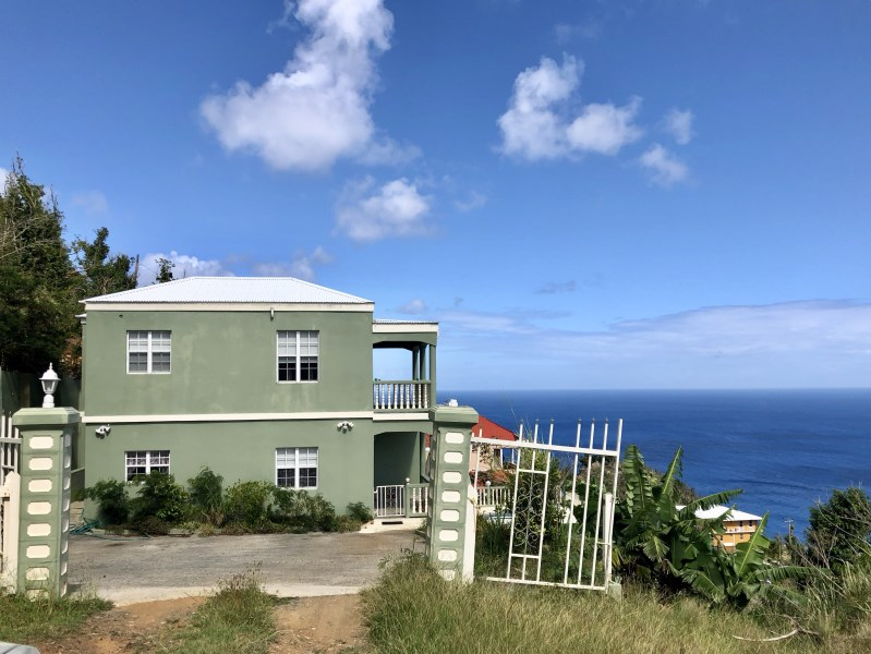 RE/MAX real estate, British Virgin Islands, Mount Healthy, **Off market** Pet friendly standalone three bed with pool above Brewers Bay