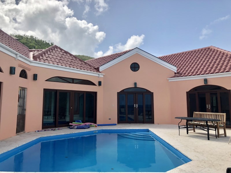 RE/MAX real estate, British Virgin Islands, Lambert Beach, **rented** One of a kind- 4 bed villa with pool in Little Bay available in Aug