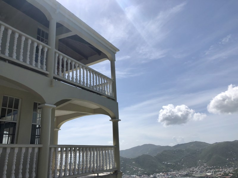 RE/MAX real estate, British Virgin Islands, Fish Bay, Pet friendly semi- furnished standalone 3 bed with pool in Sabbath Hill available Feb 1