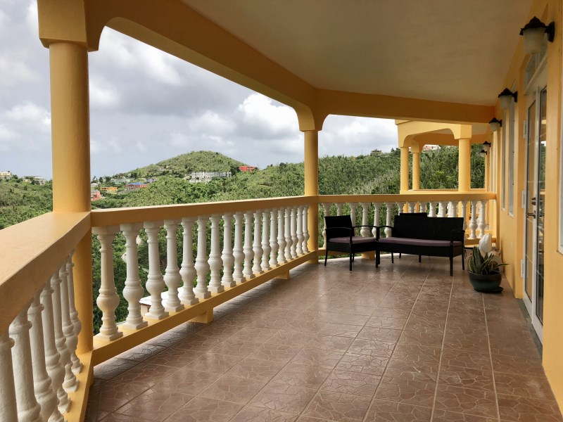 RE/MAX real estate, British Virgin Islands, Fish Bay, **Rented til Sep 19** Pet friendly newly refurbished spacious three bed with sea view balcony available.