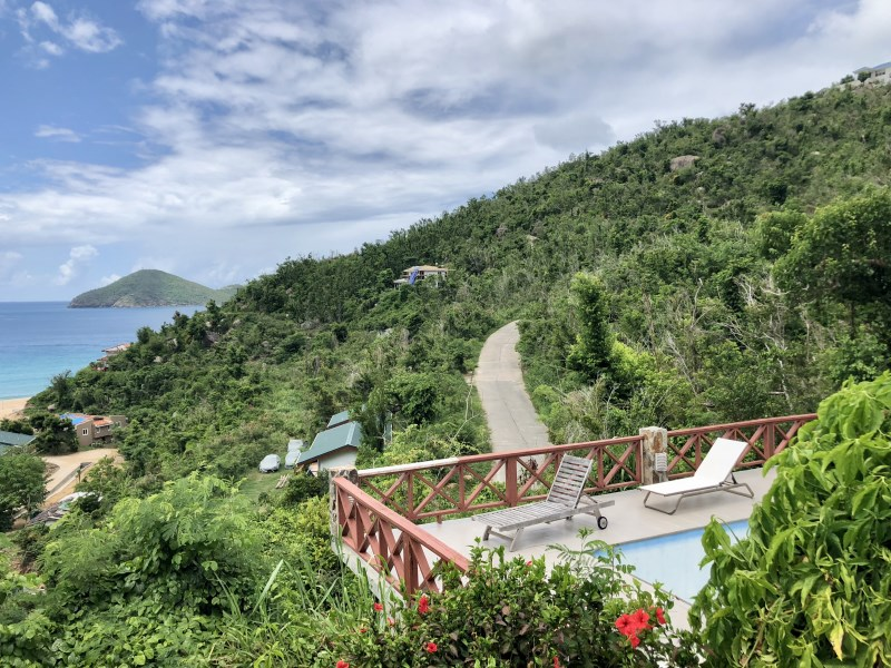RE/MAX real estate, British Virgin Islands, Lambert Beach, **rented no longer available** Paradise dream! 3 bed 3 bath villa with pool in Lambert Resort