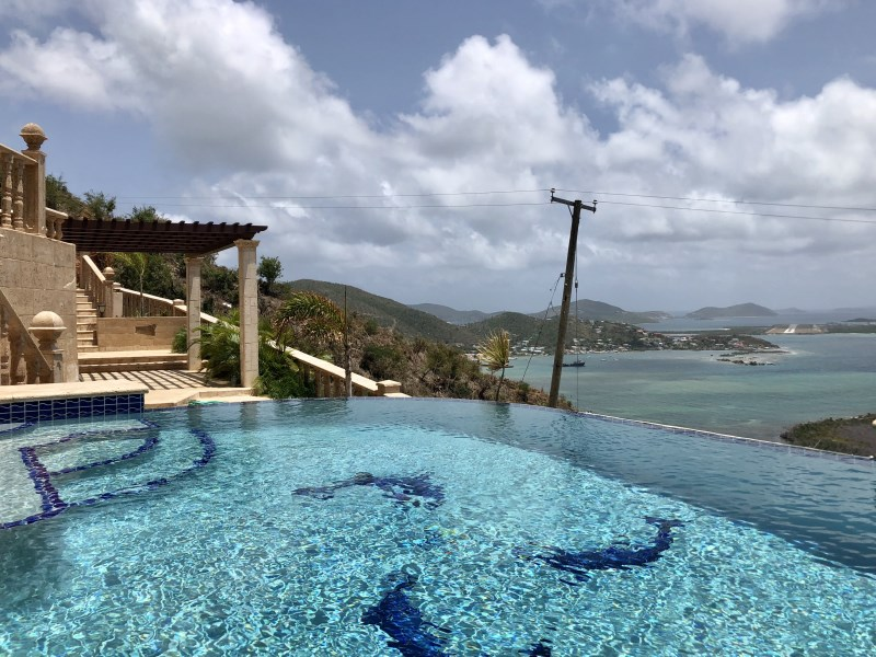 RE/MAX real estate, British Virgin Islands, Hodges Creek, **rented** Affordable luxury, Artistically furnished 2 bed 2 bath with pool available