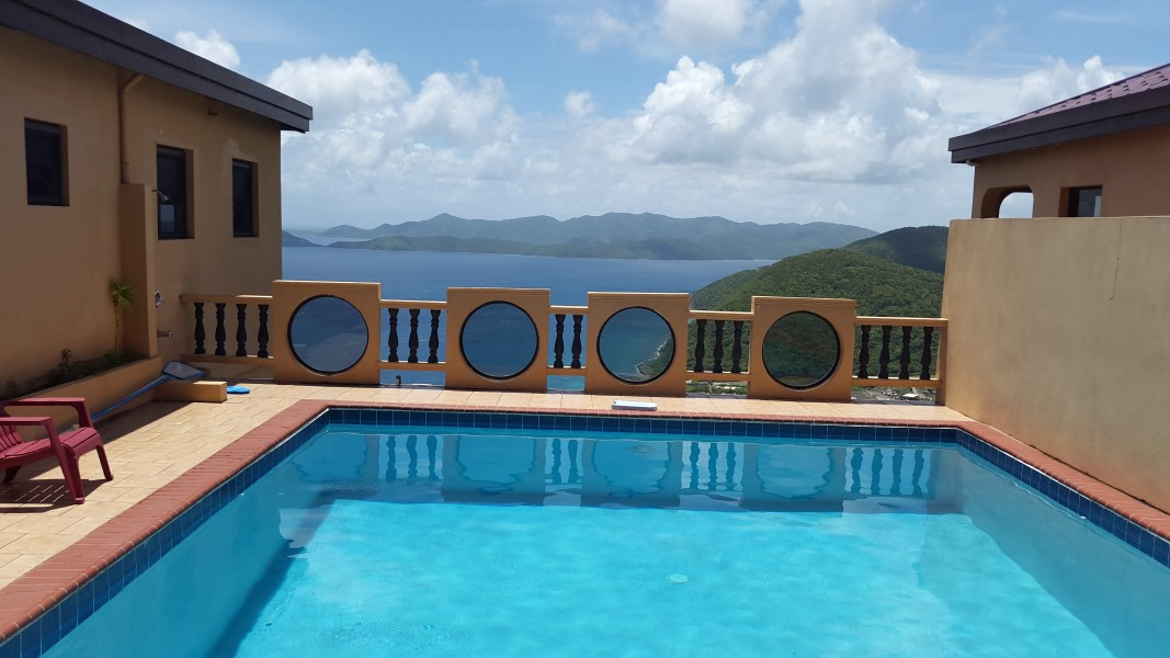 RE/MAX real estate, British Virgin Islands, Sea Cows Bay, **rented**  Havers 2 bed 1 bath with shared pool and large deck