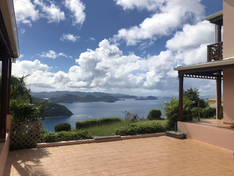 RE/MAX real estate, British Virgin Islands, Cane Garden Bay, Easy access 5 bed 5 bath villa available Nov