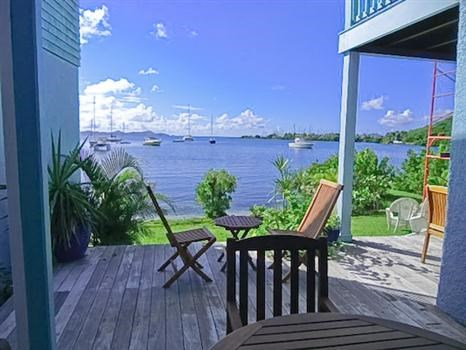RE/MAX real estate, British Virgin Islands, Sea Cows Bay, Unique waterfront 3 bed 3 bath cottage available to rent Jan 1