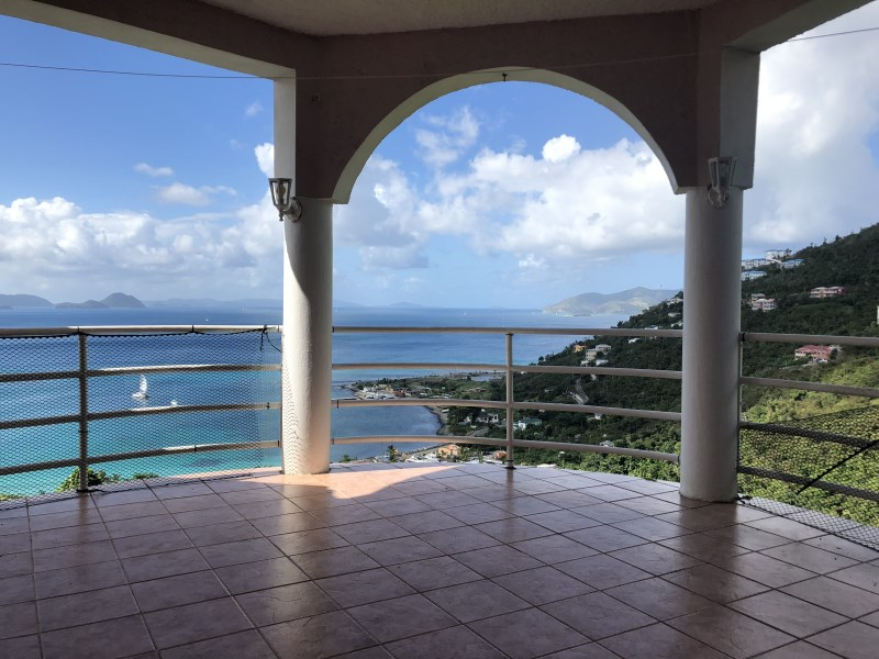RE/MAX real estate, British Virgin Islands, Cane Garden Bay, **rented** Pet friendly 4 bed 3 bath house in Cane with pool available March