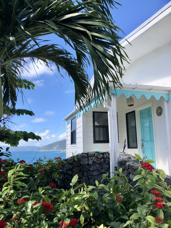 RE/MAX real estate, British Virgin Islands, Brandywine Bay, Caribbean Charm, fully furnished 3 bed standalone beach cottage for rent
