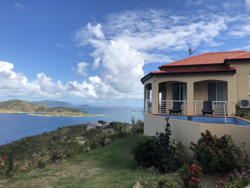 RE/MAX real estate, British Virgin Islands, Beef Island, Brand new 3 bed villa with pool close to Beef Island