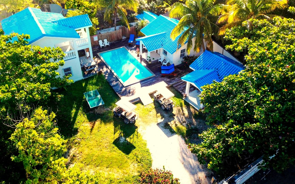 Remax real estate, Belize, San Pedro, Azul Maya Villas Investment Property