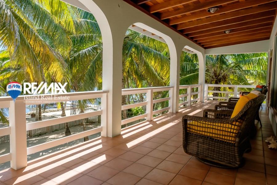 Remax real estate, Belize, San Pedro, Tres Cocos Beachfront Home