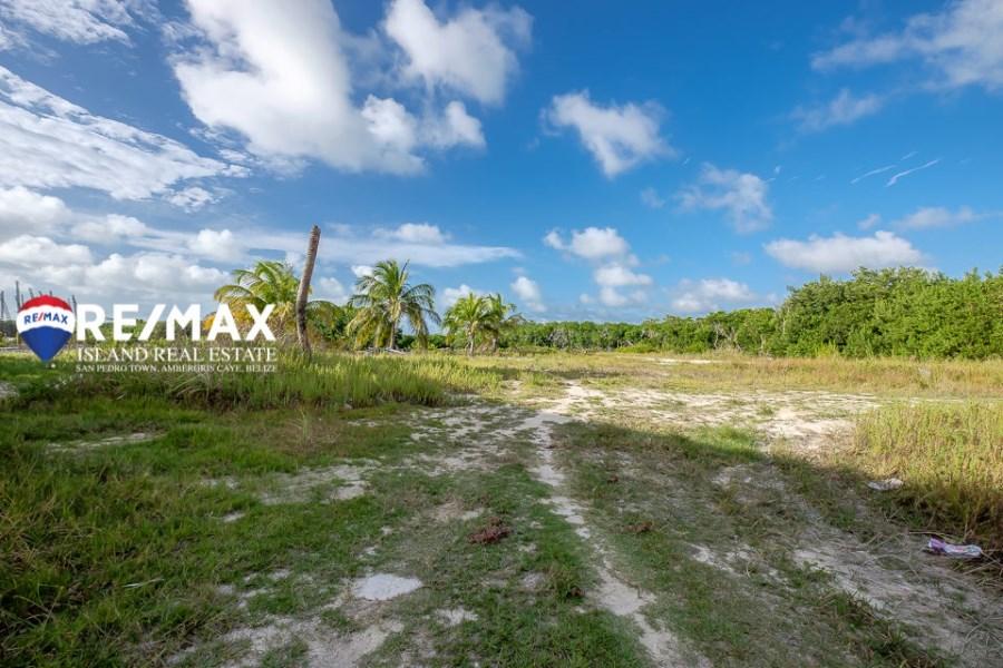 Remax real estate, Belize, San Pedro, South Ambergris Ocean View Lot