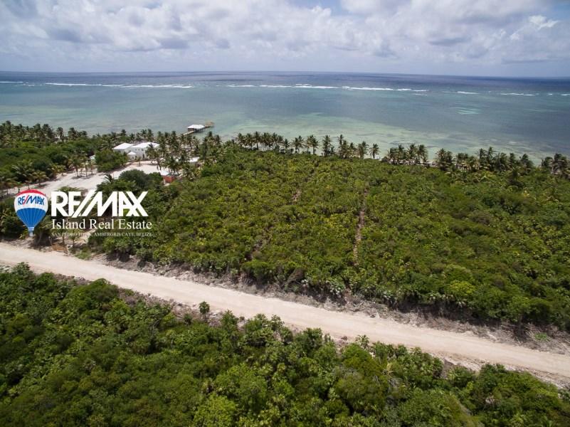 Remax real estate, Belize, San Pedro, Habeneros Beach Lot