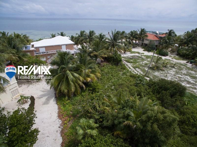 Remax real estate, Belize, San Pedro, Palmero Point Beach Lot