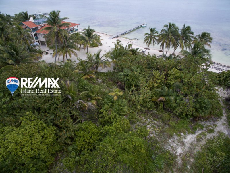 Remax real estate, Belize, San Pedro, Palmero Point Beachfront Lot