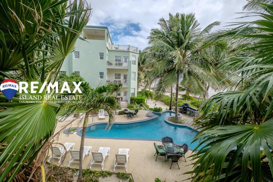 RE/MAX real estate, Belize, San Pedro, Bermuda Beach Condo – Unit A2 – Beautiful 2 Bedroom 2 Bathroom Condo
