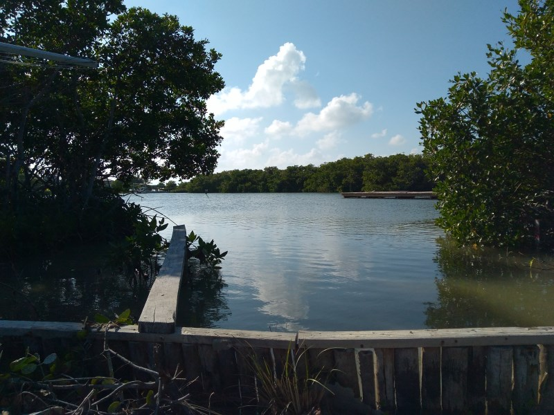 Remax real estate, Belize, Caye Caulker, Lagoon Front Lot - North Caye